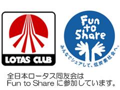 ロータス環境宣言&Fun to Share